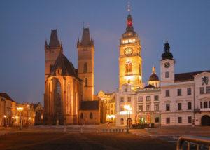 Hradec Králové - rozbřesk